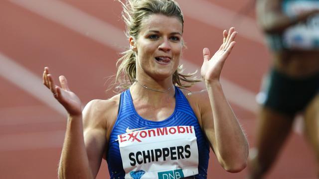 Schippers wint in snelste tijd van het jaar 200 meter Diamond League Oslo