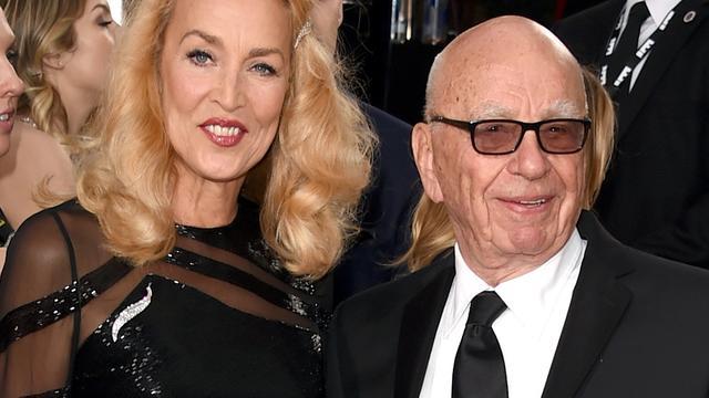 Rupert Murdoch en voormalig model Jerry Hall gaan trouwen