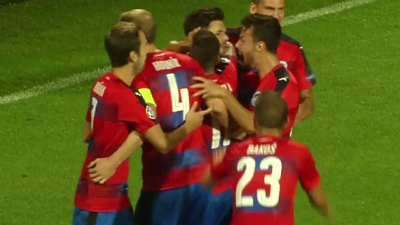Samenvatting Viktoria Plzen-Ludogorets (2-2)