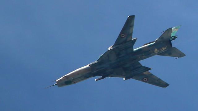 VS-coalitie haalt Syrisch legervliegtuig bij Raqqa neer