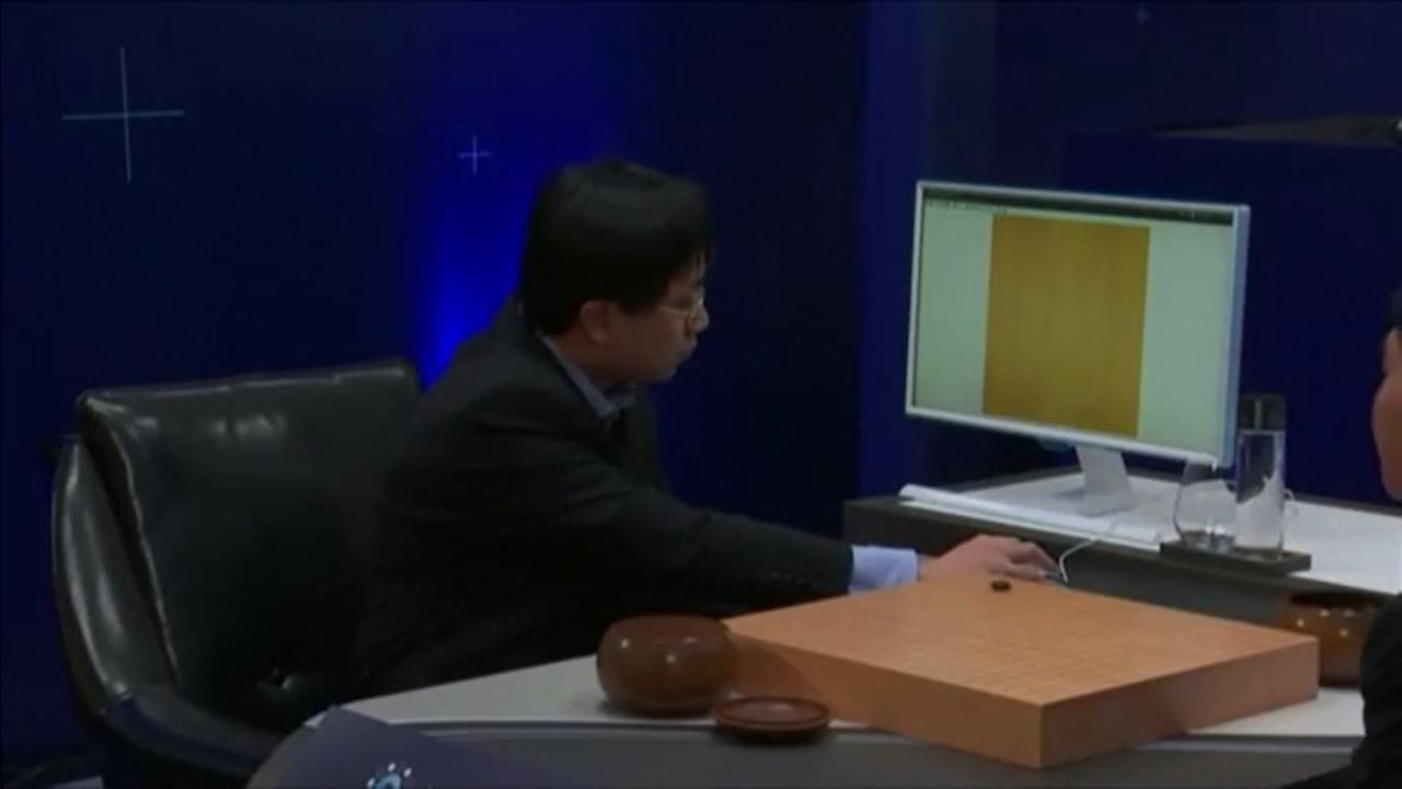 Computer Google speelt wedstrijd met Go-grootmeester