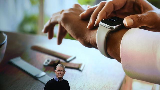 'Verkooprecord voor Apple Watch in feestdagenseizoen'