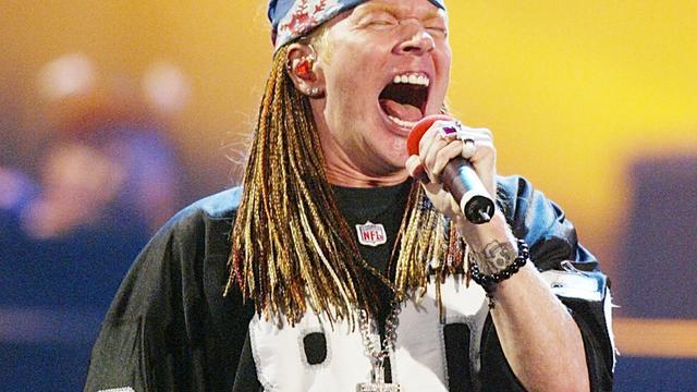 Guns N' Roses op tournee door Noord-Amerika