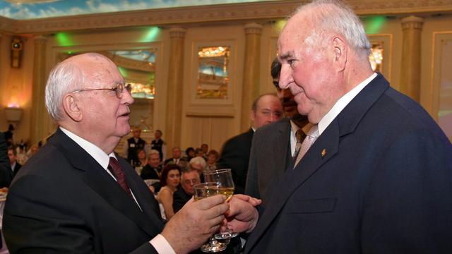Voormalige Sovjetleider Gorbatsjov niet naar afscheid oud-kanselier Kohl