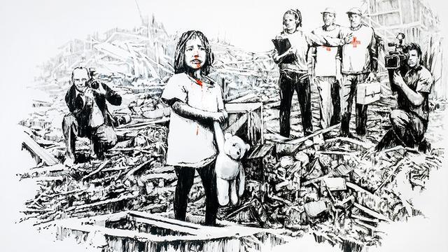 Identiteit Banksy lijkt per ongeluk te zijn onthuld