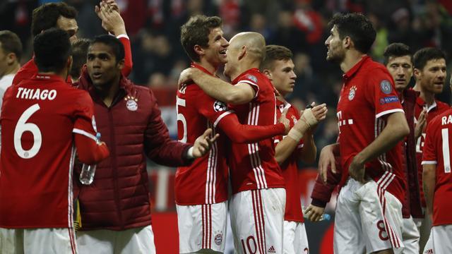 Samenvatting Bayern München-Arsenal (5-1)