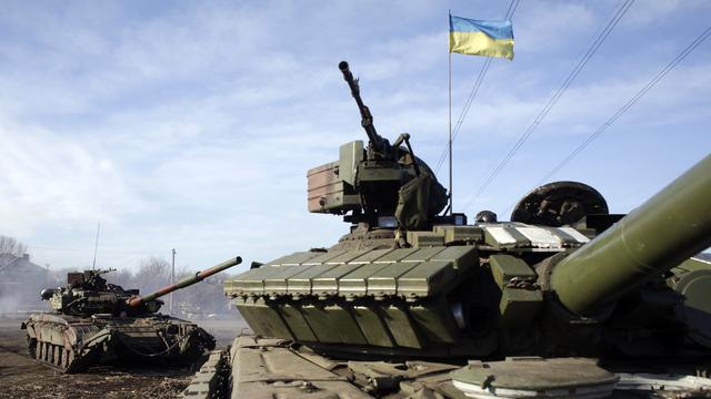 Oekraïense troepen aan grens Krim in hoogste staat van paraatheid
