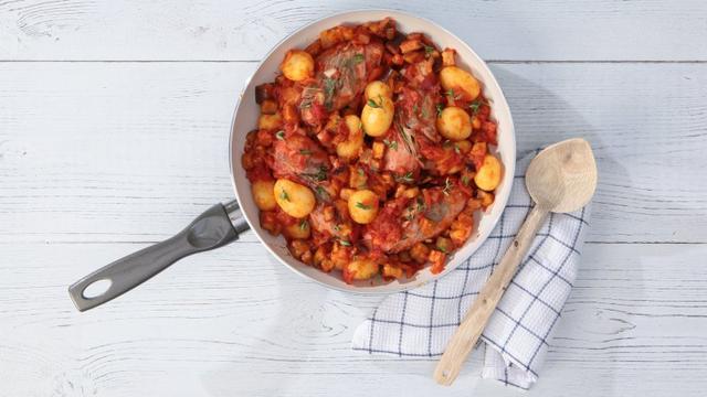 Recept van de dag: Gestoofde kip met groenten