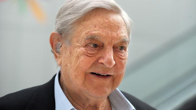 Topbelegger George Soros ziet Amerikaanse beurzen kelderen