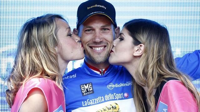 Tjallingii raakt bergtrui kwijt in vierde etappe Ronde van Italië