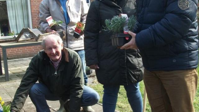 Vernieuwde tuin voor bewoners Boshuizerlaan
