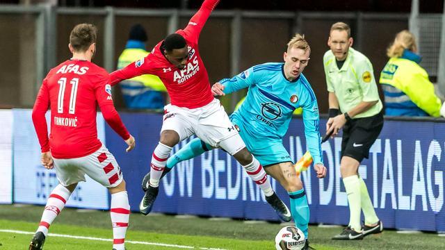 'Feyenoord persoonlijk rond met verdedigers Haps en St. Juste'