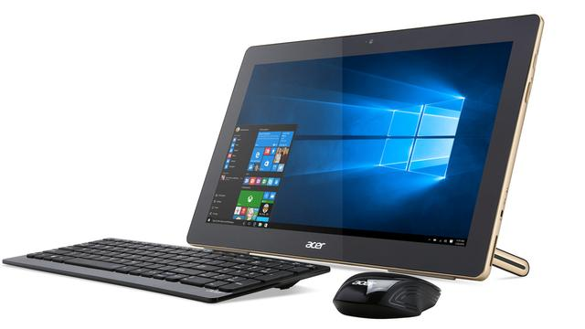 Acer presenteert omklapbare laptop en mobiele all-in-one-pc