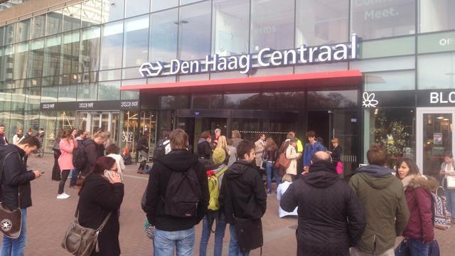 Den Haag Centraal korte tijd ontruimd vanwege politieonderzoek
