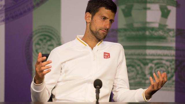 Djokovic beaamt dat hij niet honderd procent fit was op Wimbledon