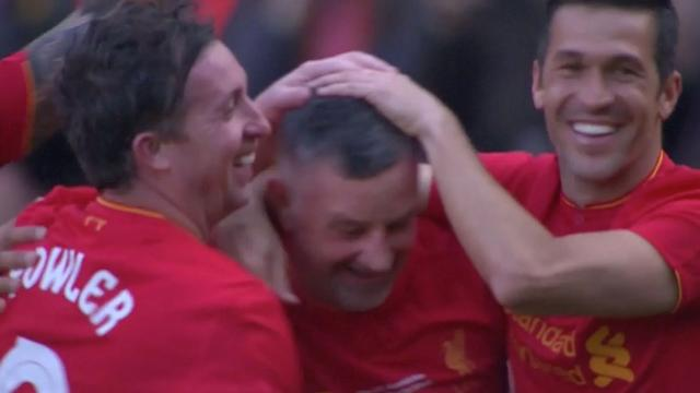 Samenvatting: Liverpool Legends verslaan Real Madrid Legends (4-3)