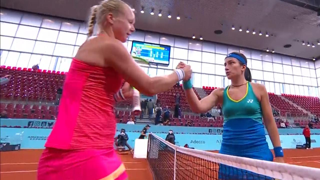 Bertens onderuit tegen Sevastova in kwartfinales WTA-toernooi Madrid
