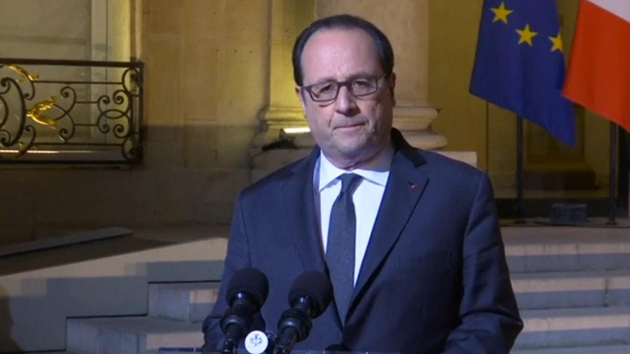Schietpartij op Champs-Élysées volgens Hollande terrorisme