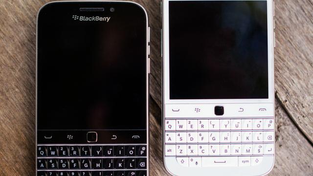 Blackberry stopt met maken Blackberry Classic