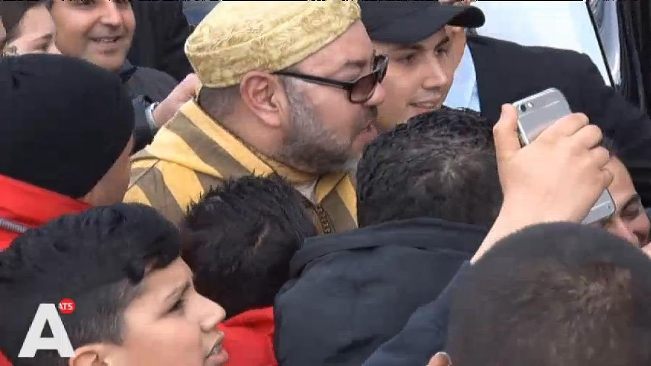 Marokkaanse koning vertrekt uit Nederland