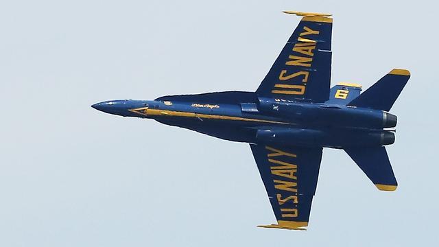 Ongelukken met vliegstuntteams Amerikaanse luchtmacht en marine