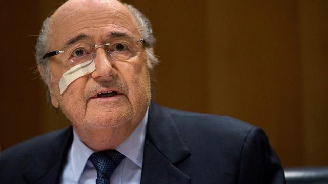 Blatter vindt dat hij niets ernstigs heeft gedaan