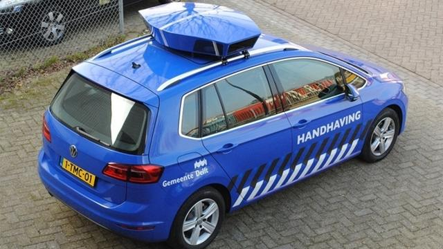 Leiden gaat digitaal parkeren
