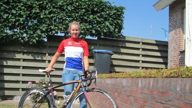 Wielrenster Demi de Jong uit Ossendrecht pakt podiumplek