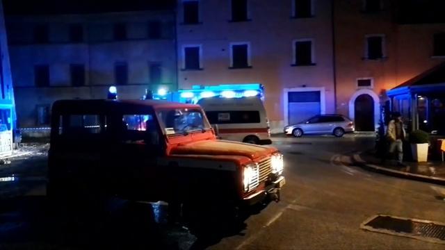 Drie aardbevingen treffen Midden-Italië