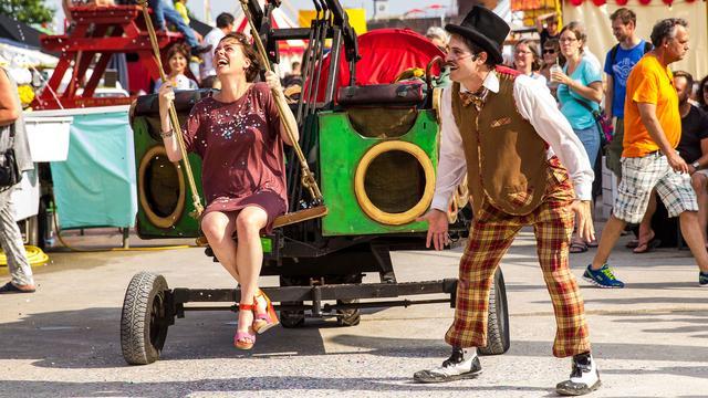 Onderstroom barst los met jaren '20-feest in Vlissingen