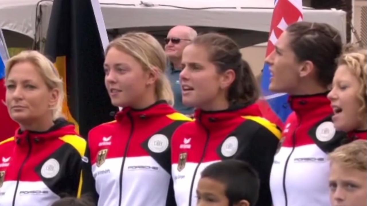Excuses tennisbond VS voor zingen nazicouplet Duits volkslied