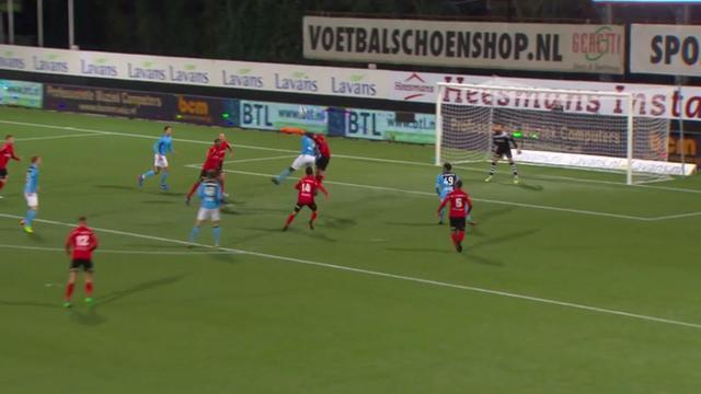 Samenvatting Helmond Sport-Jong FC Utrecht (1-1)