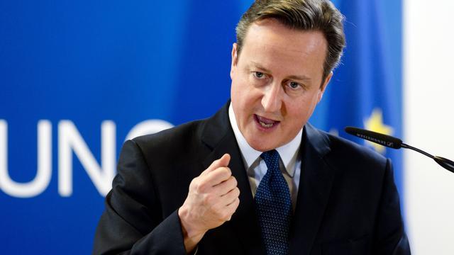 Cameron stapt met Britten uit EU als volk dat wil
