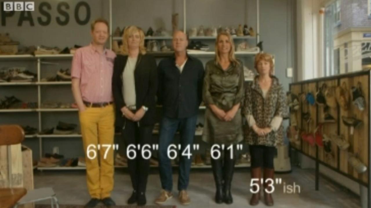 BBC bezoekt lange Nederlanders