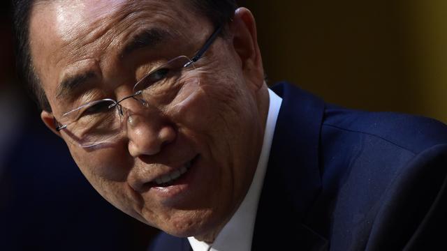 Ban Ki-moon bezorgd over vluchtelingenpolitiek Europa