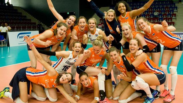 Volleybalsters verslaan ook Noorwegen overtuigend in WK-kwalificatie