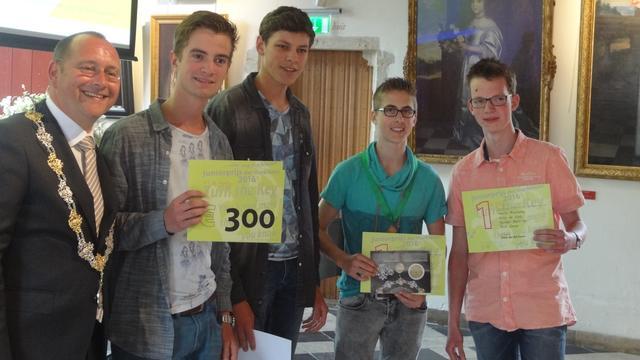 Juniorprijs der Markiezaten voor leerlingen 't Rijks