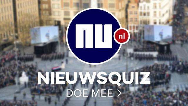 Test je kennis in de NU.nl nieuwsquiz