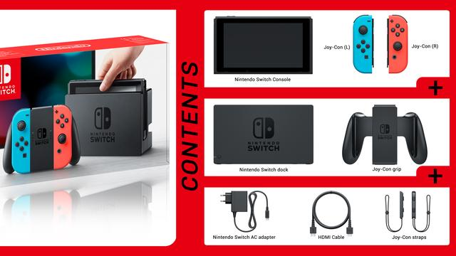 Standaard-accessoires Nintendo Switch
