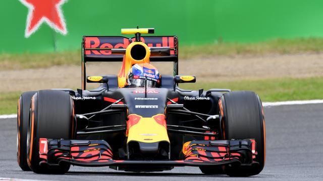 Verstappen vierde in laatste training voor GP Japan