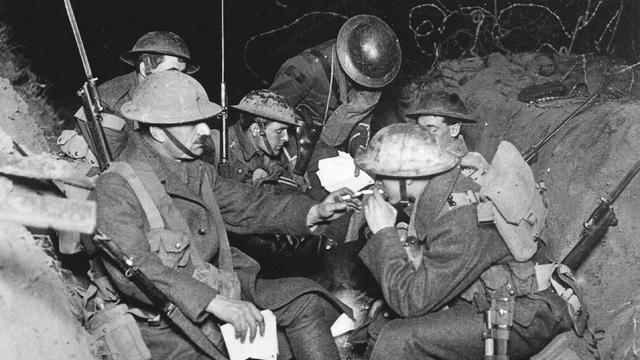 Britten en Fransen herdenken Slag om de Somme