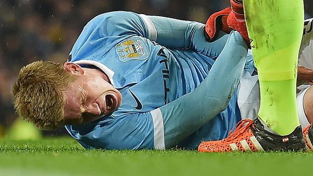 Manchester City vreest zware blessure De Bruyne