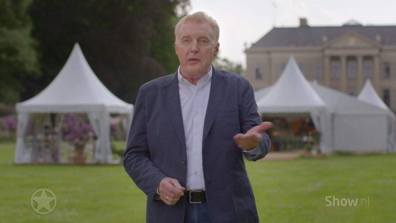 Presentatiedebuut André bij Heel Holland Bakt
