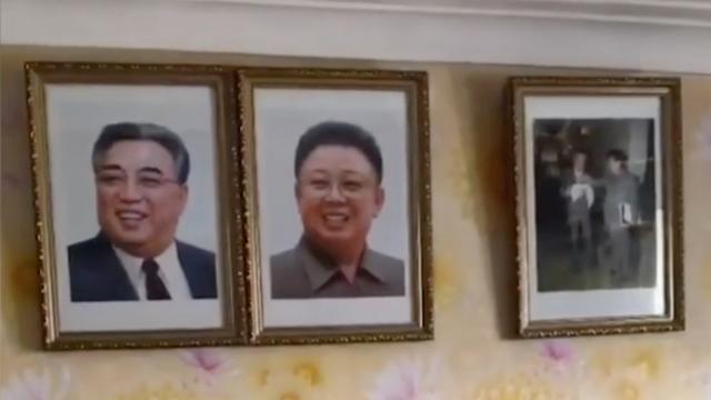 Zeldzaam kijkje binnen in een Noord-Koreaans appartement