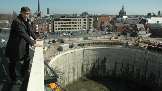 Diepste bouwput van Nederland staat droog
