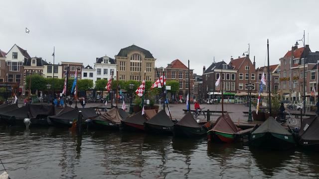 Honderden historische schepen mogelijk naar Leiden