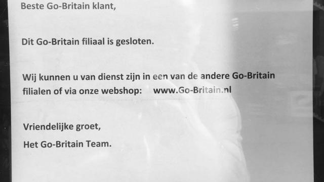 'Filiaal Go Britain in Breda draaide te veel verlies'