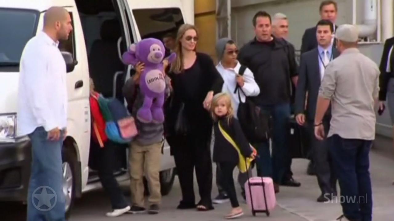 Kinderen grote verliezer scheiding Brad en Angelina