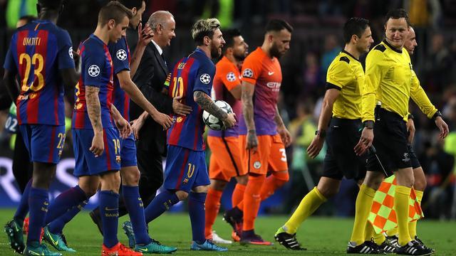 Barcelona verslaat City dankzij hattrick Messi, ruime zege Arsenal