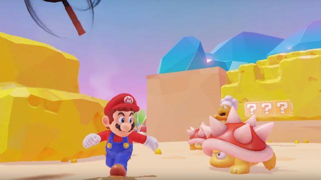 Zo ziet de nieuwe openwereldgame Super Mario Odyssey eruit